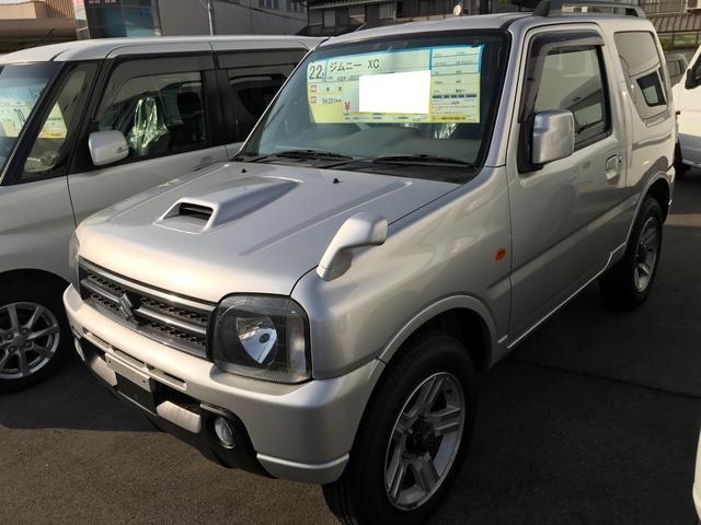 スズキ XC 軽自動車 ETC 4WD シルキーシルバーメタリック