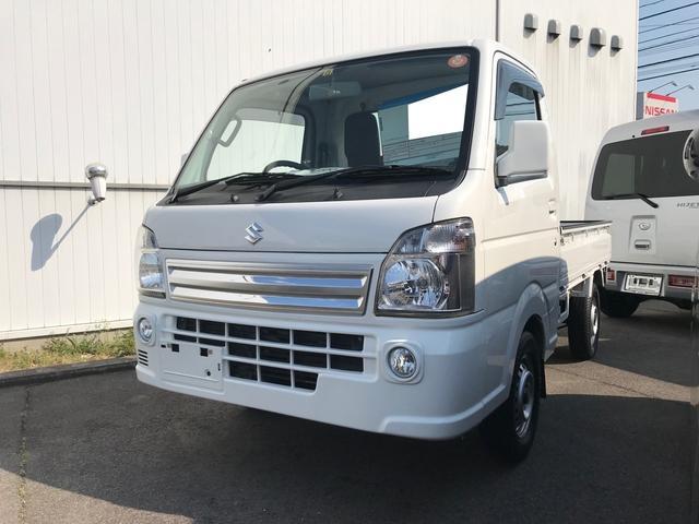 スズキ KX 4WD AC AT 軽トラック ホワイト