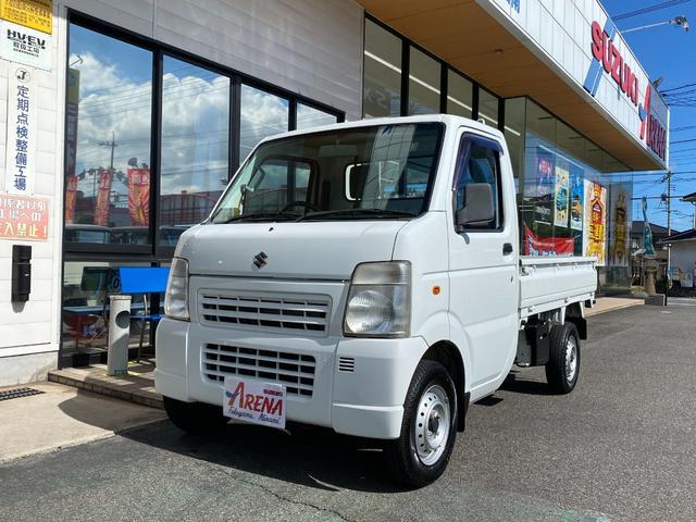 スズキ キャリイトラック ダンプ エアコン パワステ 5MT ヤシマ産業ダンプ 2WD
