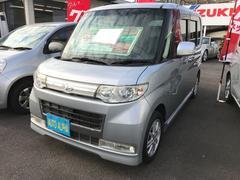 タントカスタムX 軽自動車 インパネAT 保証付
