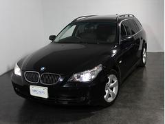 BMW525iツーリングハイラインパッケージ 黒革 SR 純正ナビ
