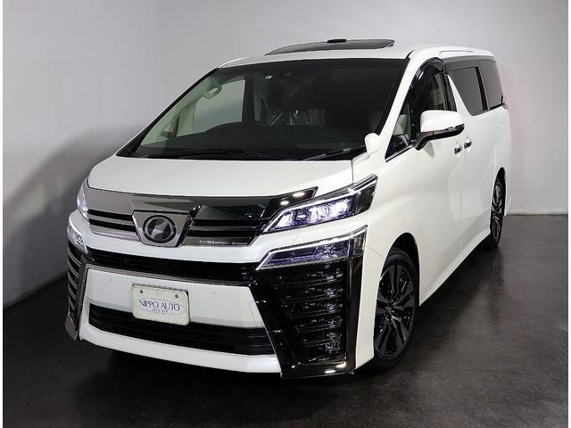 トヨタ 2.5ZG-ED SR 10型ナビ後席TV 3眼LEDライト