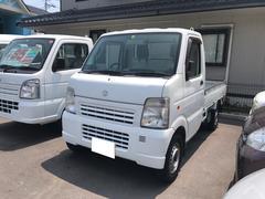 キャリイトラックKCエアコン・パワステ MT 軽トラック ホワイト