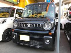 スペーシアギアハイブリッドXS ターボ 両側電動スライド シートヒーター