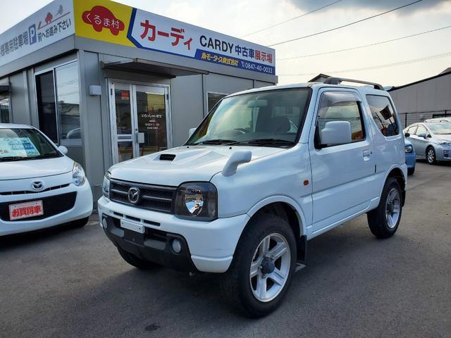 マツダ XC 4WD 5速マニュアル