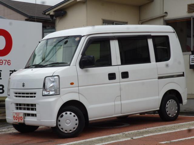 スズキ 4WD パワステ エアコン CD FM/AM MT