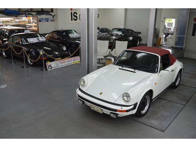 ポルシェ 911SCカブリオレ D車 レザー ガレージ保管