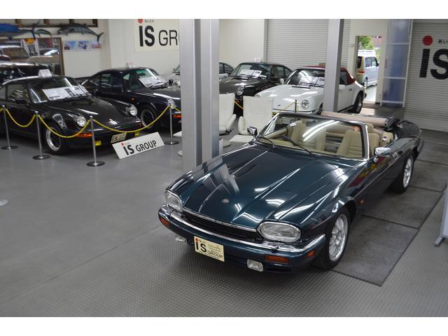 ジャガー V12コンバーチブル ガレージ保管 保証書 記録簿 禁煙車