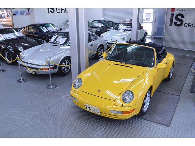 ポルシェ 911カレラ カブリオレ オリジナル車 D車 保証書 記録簿