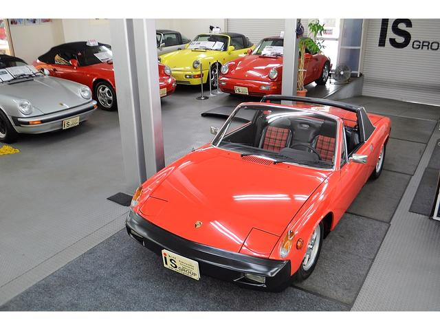 ポルシェ 914 2.0 ディーラー車 オリジナル車 5MT タルガ