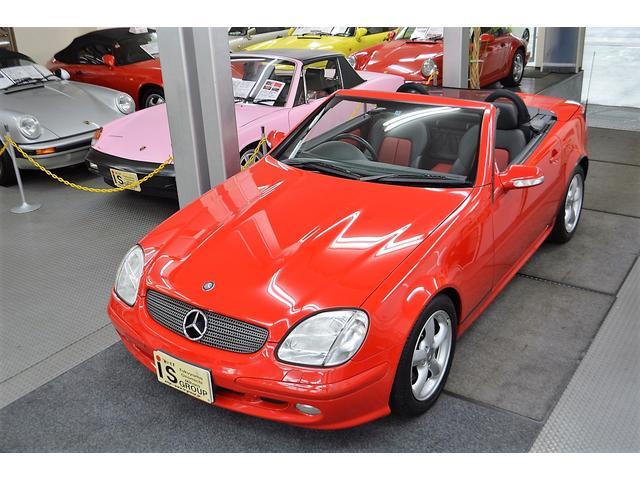 メルセデス・ベンツ SLK320 ワンオーナー D車 右H 本革シート 保証書