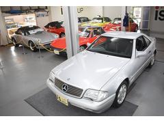 M・ベンツSL500 右ハンドル ハードトップ 本革シート D車
