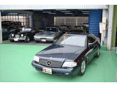 M・ベンツSL500 保証書 取説 D車 右H オリジナル車