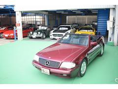 M・ベンツSL500 D車 右H 保証書 記録簿8枚 オリジナル車