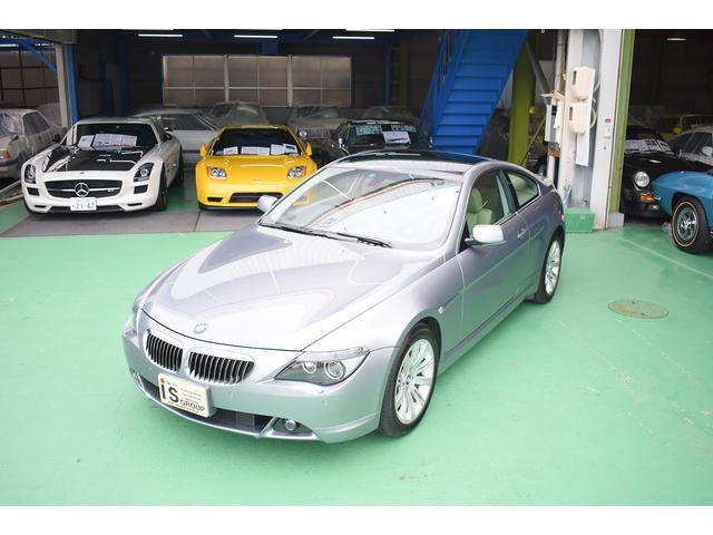 BMW 6シリーズ 645Ci SMGシーケンシャル 右H 本革 純正DVDナビ