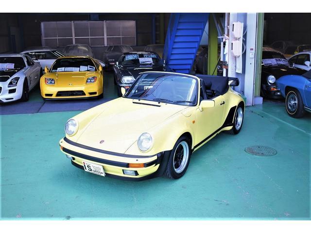 ポルシェ 911 911ターボ カブリオレ ディ―ラー車 フルオリジナル 生産台数628台 電動オープン フルパワーシート