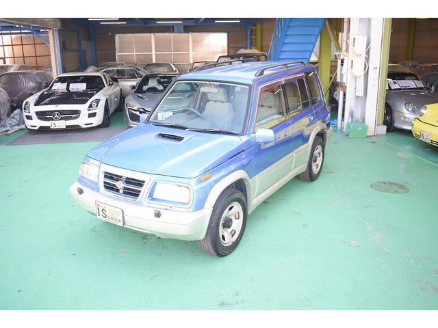 スズキ 2000ディーゼル ターボ 4WD 背面タイヤ ルーフレール