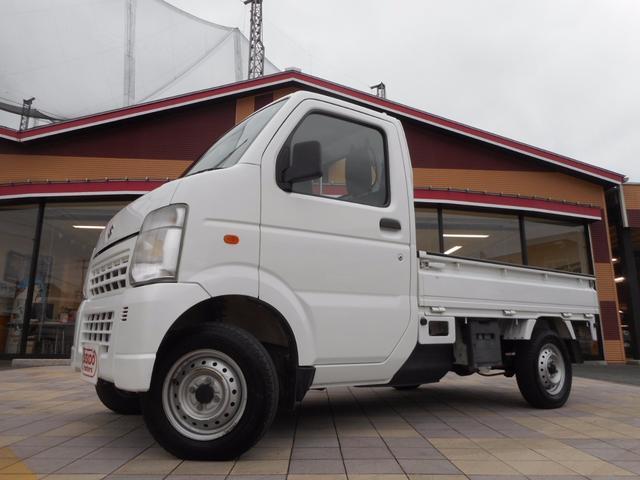 スズキ KC エアコン パワステ 4WD 5MT ユーザー下取り車