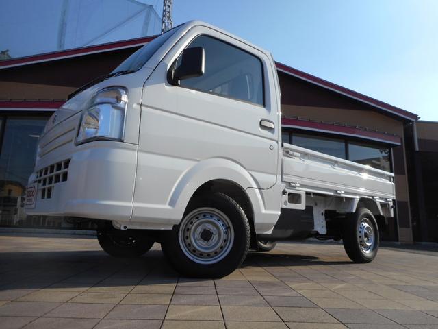 スズキ KCエアコン・パワステ 4WD 5MT ABS搭載