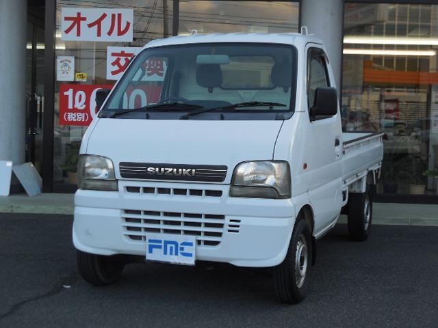スズキ KUスペシャル エアコン・パワステ・パートタイム4WD