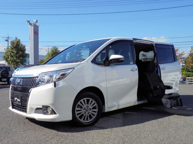 トヨタ エスクァイア Xi ウェルキャブ サイドリフトアップシート 両側パワスラドア