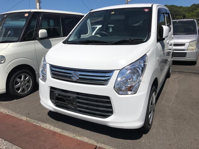 スズキ ワゴンR FX ナビ 軽自動車 スペリアホワイト CVT...