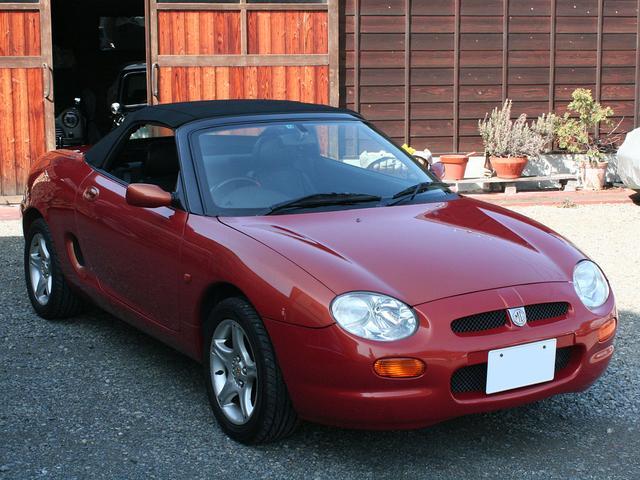 「MG」「MGF」「オープンカー」「広島県」の中古車