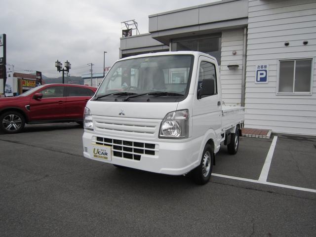 三菱 ミニキャブトラック M エアコン e−Assist 届出済未使用車 三方開