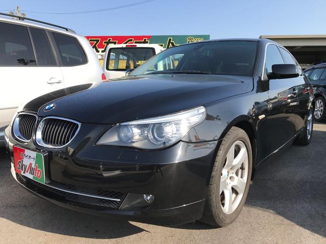BMW 525iハイラインパッケージ 革シート ETC 純正ナビ
