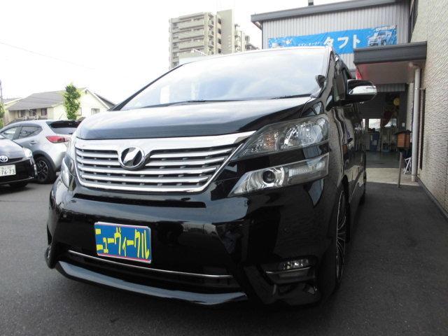 トヨタ 2.4Z プラチナムセレクション サンルーフ 純正ナビ フリップダウンモニター