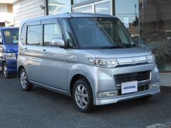 タントカスタムL  4WD  純正ナビ テレビ