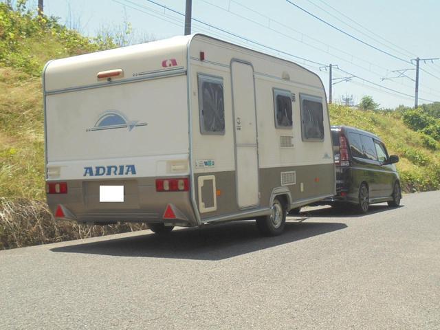 ホンダ 8ナンバーキャンピングトレーラー アドリア 牽引免許不要