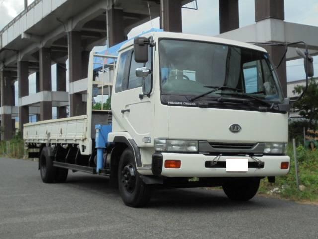 日産ディーゼル タダノ5段クレーン ラジコン付 ETC