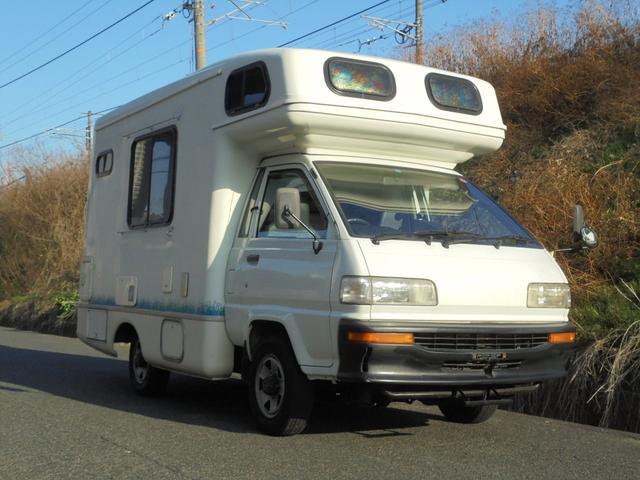 トヨタ キャンピングカー コラム5速MT 4WD バックカメラ