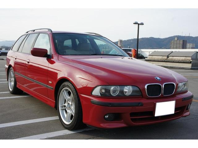 BMW 5シリーズ 525iツーリング Mスポーツパッケージ ベージュ革シート 純正レッド