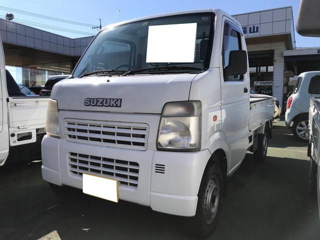 スズキ KC AC MT 軽トラック ホワイト パワーステアリング