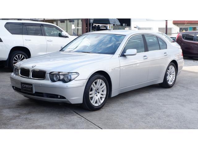 BMW 740i 25thアニバーサリーエディション 745i(5名)サンルーフ 黒革 パワーシート シートヒーター エアーシート 純正HDDナビ イージークローザー パワートランク HIDヘッド ETC プッシュスタート