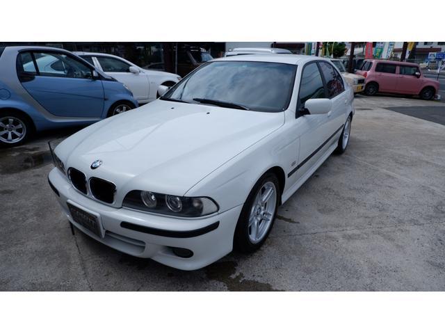 BMW 5シリーズ 525i Mスポーツ 車庫保管車 車検令和5年7月 パワーシート HIDライト 禁煙車 車庫保管車  認定評価車両 SP保証6ヶ月付き BMWディラー認定整備済み