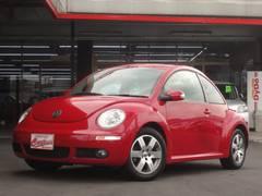 VW ニュービートルLZ 電動サンルーフ 黒革シートヒーター 地デジHDDナビ