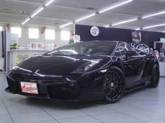 ランボルギーニ ガヤルドeギア 黒革白ステッチシート フルエアロ 正規ディーラー車