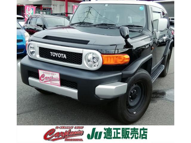 トヨタ FJクルーザー ベースグレード TV ナビ 4WD バックカメラ