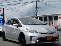 プリウスS新品9型ナビLEDフォグ新品車高調新品19インチ新品タイヤ