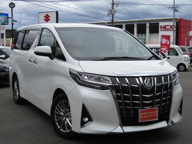 トヨタ 2.5G革 純正10型ナビ・後席モニター☆PWシート・Bドア