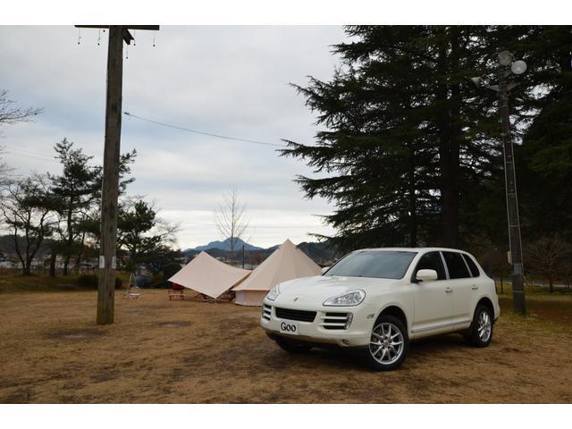 ポルシェ カイエン S 4WD ETC サンルーフ ドラレコ フル...
