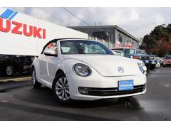 VW ザ・ビートル・カブリオレベースグレード ETC 希少車 両前席シートヒーター純正ナビ