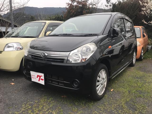 ダイハツ X 軽自動車 ブラックマイカメタリック 車検整備付