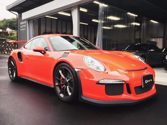 ポルシェ 911GT3RS 正規ディーラー車 整備記録簿 ワンオーナー