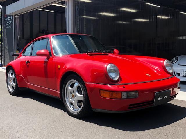 ポルシェ 911ターボ フルオリジナル エンジンO/H済み 後期モデル