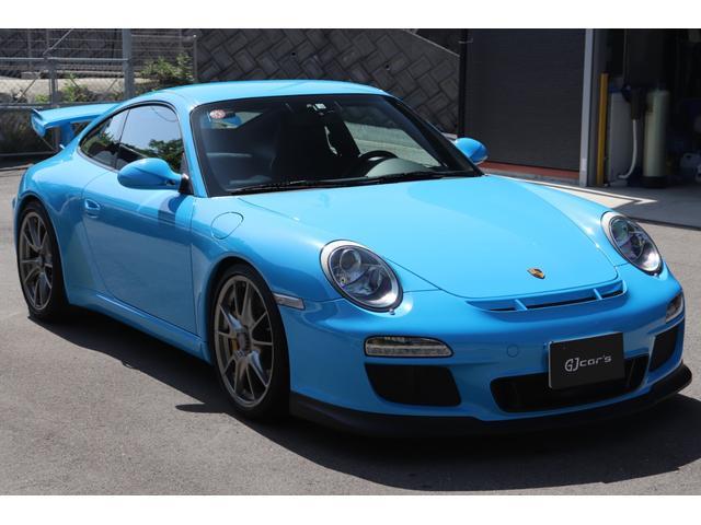 ポルシェ 911 911GT3 リビエラブルー カーボンブレーキ