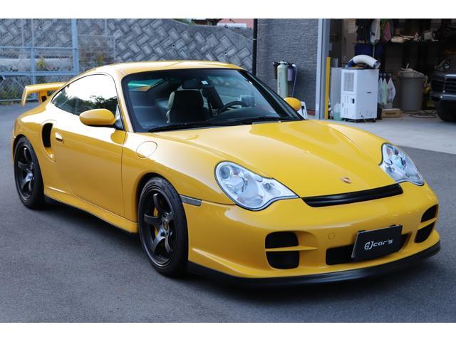 ポルシェ 911 911ターボ 特注色blossom yellow